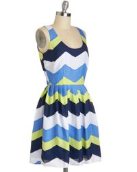 Jack BB Dakota - Blue Chillin in Chitown Dress - Lyst