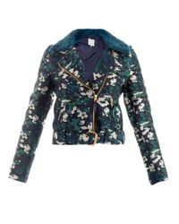 Opening Ceremony | Blue Floral Jacquard Jacket for Men | Lyst