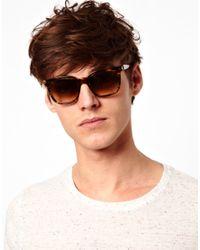 Persol - Brown Wayfarer Sunglasses for Men - Lyst