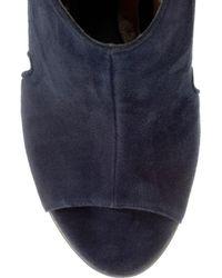 Marni   Blue Suede Platform Sandals   Lyst