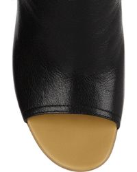See By Chloé - Black Ankle Cut-Out Boots - Lyst