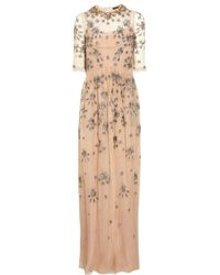 Biyan - Natural Grace Embellished Tulle Gown - Lyst