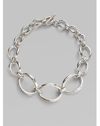 Ippolita | Metallic Sterling Silver Art Link Necklace | Lyst