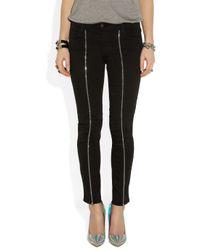 J Brand | Black Cropped Skinny Jeans | Lyst