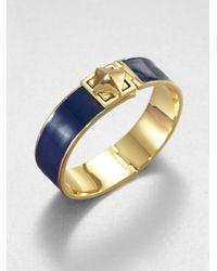 kate spade new york - Blue Locked in Bangle Bracelet - Lyst