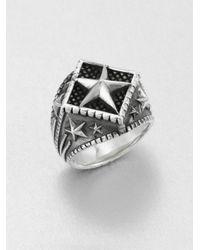 King Baby Studio - Metallic Sterling Silver Star Ring - Lyst