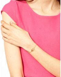 ASOS   Metallic Owl Bracelet   Lyst