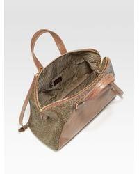 Fendi | Brown Chameleon Calf Hair Bag | Lyst