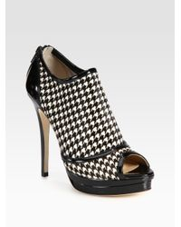 Jerome C. Rousseau - Black Patent Leather Ankle Boots - Lyst