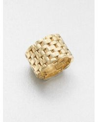 Michael Kors - Metallic Link Ring - Lyst