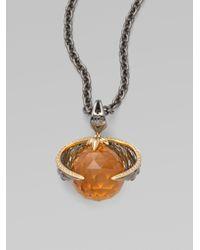 Stephen Webster - Metallic Virgo Astro Pendant Necklace - Lyst