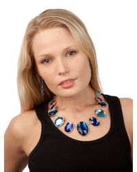 BaubleBar | Blue Sapphire Gem Bib | Lyst