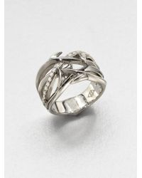 Stephen Webster - Metallic Diamond and Sterling Silver Ring - Lyst