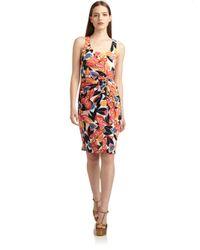 Thakoon - Multicolor Tropical Floral Silk Dress - Lyst