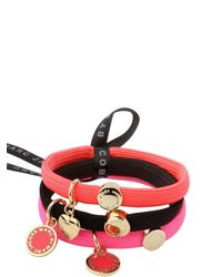 Marc By Marc Jacobs - Purple Classic Marc Cluster Pony Hair Elastics - Lyst