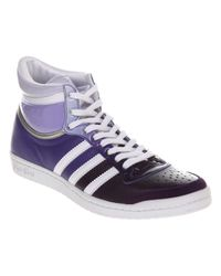 Adidas Blue Top Ten Hi Sleek Purple