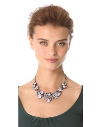 Erickson Beamon - Purple Pretty in Punk Crystal Collar - Lyst