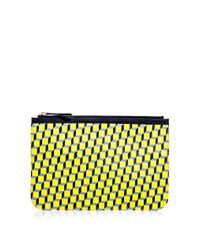 Pierre Hardy | Yellow Cubeprint Pouch Bag | Lyst