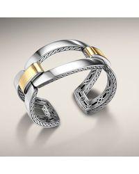 John Hardy | Metallic Link Cuff | Lyst