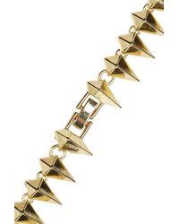 Noir Jewelry - Metallic Studded Necklace - Lyst