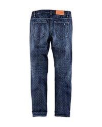 H&M | Blue Slim Regular Jeans | Lyst