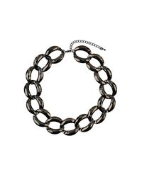 TOPSHOP | Metallic Chunky Chain Necklace | Lyst