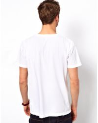 American Apparel - Tshirt with Pink Fitness Print for Men - Lyst