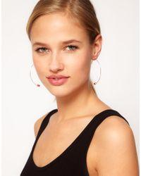 Cheap Monday | Metallic Tube Earrings | Lyst