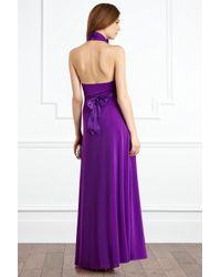 Coast - Purple Goddess Maxi Dress - Lyst