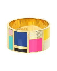 kate spade new york | Be Art and Part Of Idiom Bangle | Lyst
