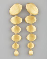 Marco Bicego | Metallic Confetti Oro Gold Drop Earrings | Lyst