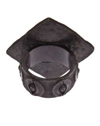 Brevard - Metallic Egyptian Eye Ring - Lyst