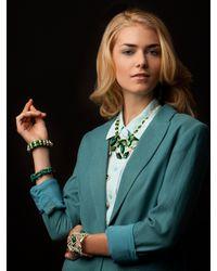 BaubleBar - Green Kempner Bracelet - Lyst
