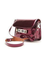 Proenza Schouler - Metallic Ps11 Mini Classic Bag - Lyst