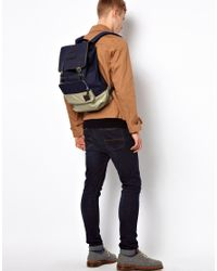 Fred Perry - Blue Backpack for Men - Lyst