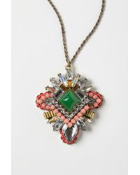 Anthropologie - Metallic Ines Necklace - Lyst