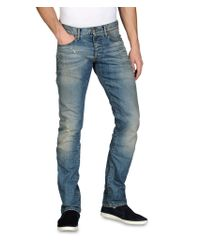 Armani Jeans - Blue Extra Slim Fit Jeans Medium Wash for Men - Lyst