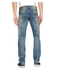 Armani Jeans - Blue Extra Slim Fit Jeans Medium Wash for Men - Lyst