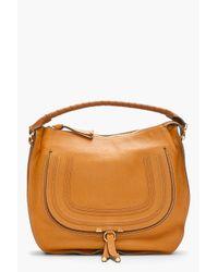 Chloé - Brown Large Marcie Hobo Bag - Lyst