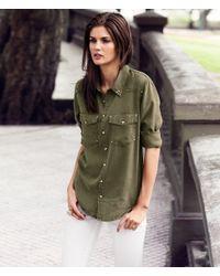 H&M | Green Shirt | Lyst