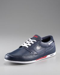 Lacoste | Blue Mens Dreyfus Boat Shoe for Men | Lyst