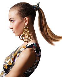 Devon Leigh | Metallic Hammered Gold Drop Earrings | Lyst