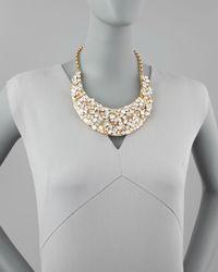 kate spade new york - Metallic Kaleidoball Crystalencrusted Necklace - Lyst