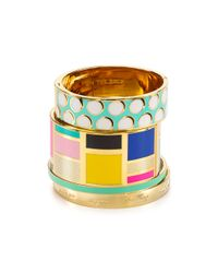 kate spade new york - Multicolor Be Art and Part Of Idiom Cuff - Lyst