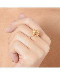 Astley Clarke | Metallic Citrine Cushion Ring | Lyst
