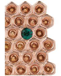 Mawi - Pink 18karat Rose Goldplated Swarovski Crystal Ring - Lyst