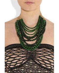 Rosantica - Green Raissa Opal Necklace - Lyst