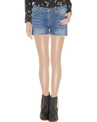 J Brand - Blue The Sachi Cutoff Shorts - Lyst