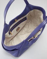 Tory Burch | Purple Hannah Pocket Hobo Bag  | Lyst