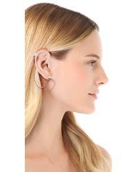 A Peace Treaty - Metallic Horn Ear Cuff - Lyst